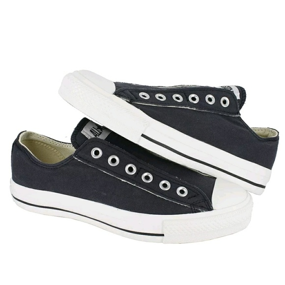 942f0af011d7 Converse All Star Ox Navy Blue No Lace Low Tops